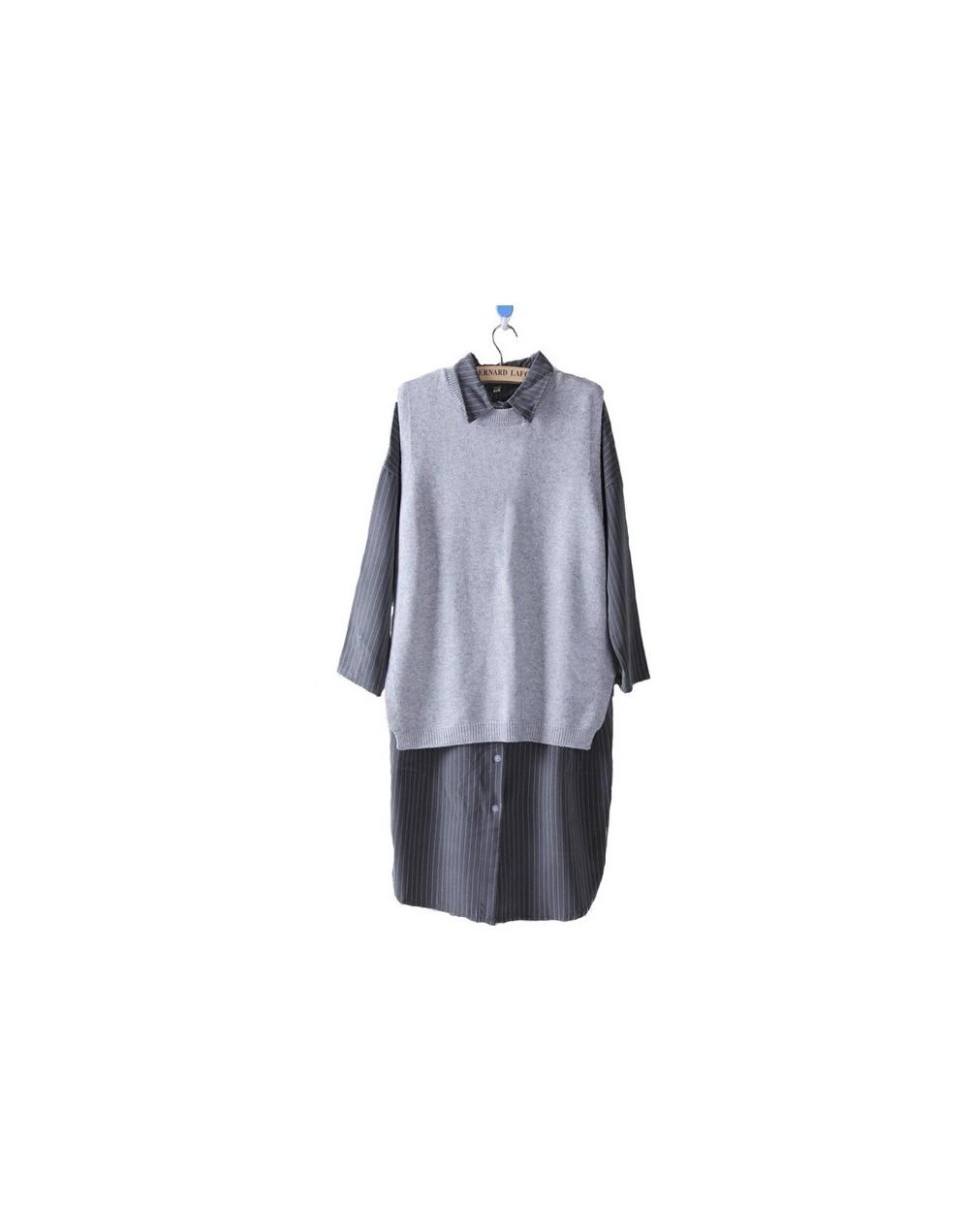 2019 vest for women spring autumn Cashmere Vest Sweater female loose Vest Women Thin Fashion Knit Sweater waistcoat jacket -...