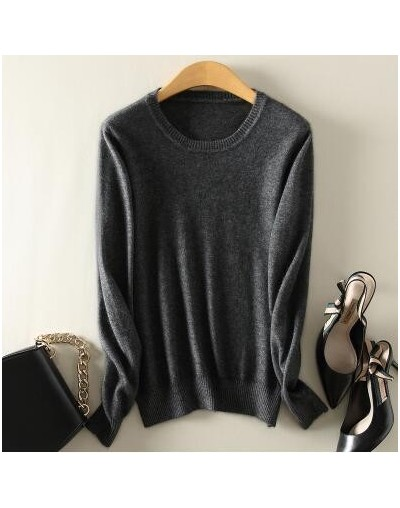 sweaters women sweater Fashion Autumn Cashmere Wool Kint Sweater Solid Slim Sexy Pullovers Coat Female Blouse Knit Sweater W...