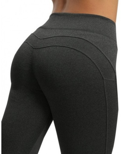 Women Workout Leggings Push Up Fitness Leggings Female Fashion Patchwork Leggings Mujer - Speckle Black - 4K3032531515-6