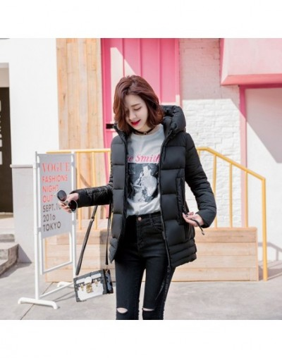 New Light Warm Thin Hooded Plus Size Long Down Women Winter Coat Jacket 2018 Clothing for Mujer Overcoat Slim Solid Jacket -...