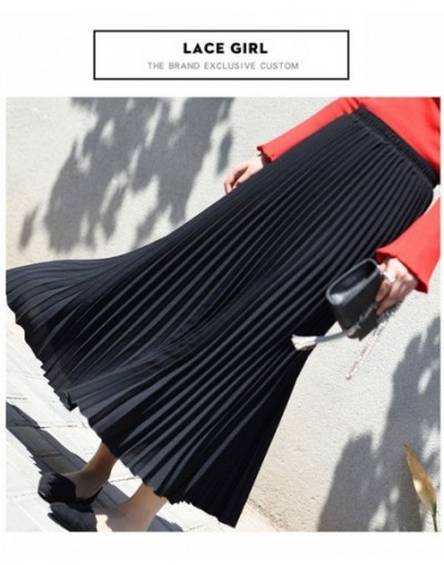 Fashion Skirts Womens Harajuku High Waist Pleated Solid Loose and Comfortable Clothes Faldas Mujer Moda 2019 Casual New Eleg...