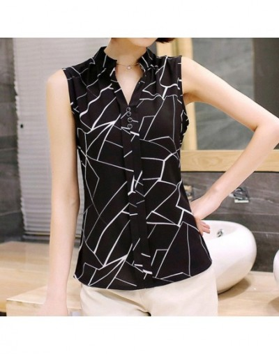 Blouse Women Chiffon Short Sleeve Shirt Plus Size Womens Tops And Blouses Elegant Ladies Shirt Formal Office Clothes Work To...