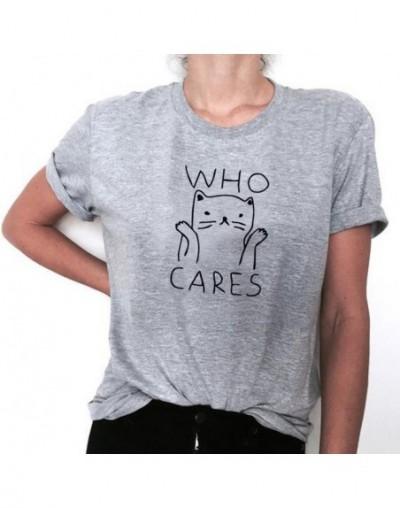 OLN Cat Graphic Tees Women Funny T shirts Women 2018 Summer Vintage Tee Shirt Femme Kawaii Black White Tshirts Cotton Women ...