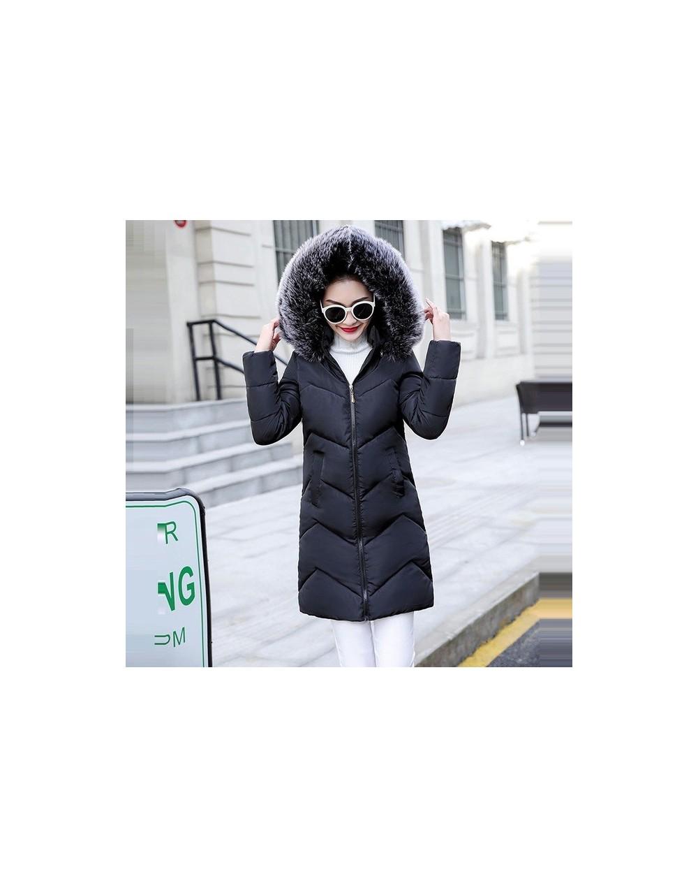Fake Fur Parkas Women Down Jacket New 2019 Winter Jacket Women Thick Snow Wear Winter Coat Lady Clothing Female Jackets Park...