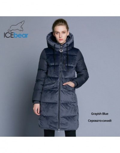 2019 new high quality winter velvet jacket thick warm women's parka clothing fashion casual women's brand coat GWD18080 - G6...