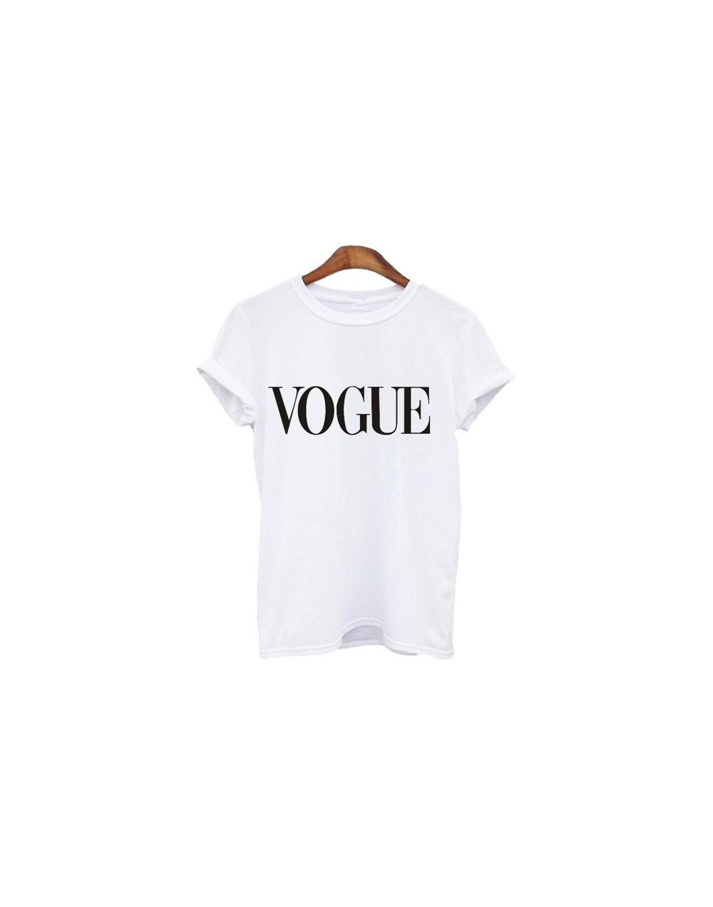 Humor Tea Print T Shirt For Women Clothing 2018 Summer Funny Female T shirts Harajuku Tee Tumblr Hipster Ladies T-shirt - Wo...