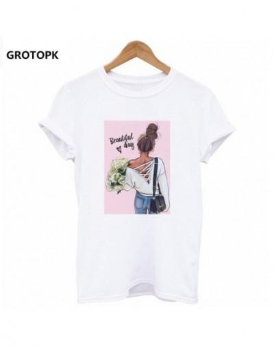 Beautiful Day Female T-shirt Harajuku Kawaii White T-shirt Women Clothes 2019 Streetwear Girlsfriend Gifts Cotton Vogue T Sh...