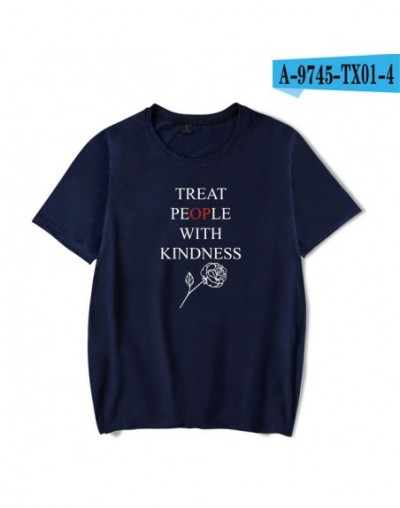 Harry Styles Treat People With Kindness Summer T-shirts Women/Men Short Sleeve Trendy Printed Tshirts Fashion Casual Tee Shi...