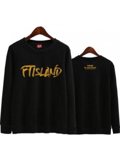 Kpop ftisland over 10 years album printing o neck thin sweatshirt for fans supportive pullover hoodies - 1 - 473925785289-1