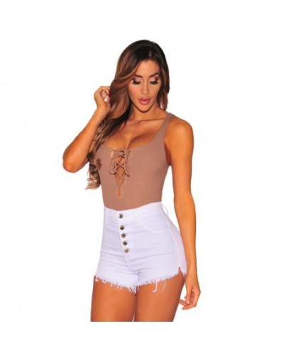 Women Jeans Hight Waist Button Tassel Stretch Skinny Jeans Shorts jeans femme vaqueros mujer джинсы женские большие размеры ...
