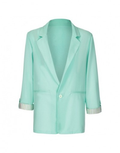 Fashion Autumn Womens Coat Blazers Ladies Solid Turn Down Collar Jacket Long Sleeve Coat Office Lady Parka Outerwear ropa mu...