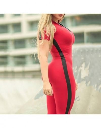 Zipper Hooded Rompers Jumpsuits For Women 2018 Patchwork Long Sleeve Bodysuit Street wear Overall Women Playsuit Sexy Jumpsu...