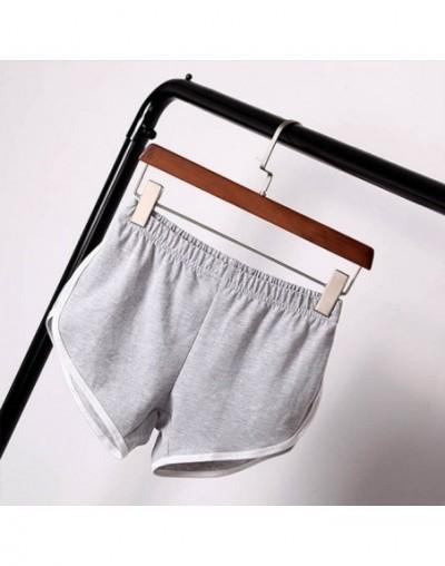 Summer For Women Street Fashion Shorts Elastic Waist Short Pants All-match Loose Solid Soft Cotton Casual Short Femme - H - ...