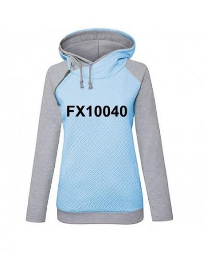 Hoodies For Women Lapel Hooded Logo Letters Print Kawaii Tops Sweatshirts Hoodies Women Frauen Loose Casual Funny Cropped Pl...