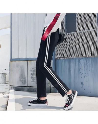 joggers Harem Pants hip hop casual large size S-2XL loose beam legs solid color Ankle-Length Pants women's couple Harajuku p...