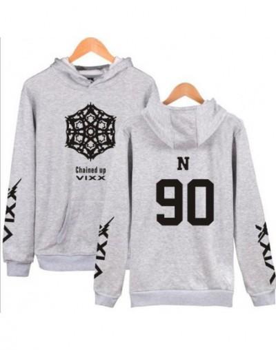 Moletom K POP KPOP VIXX CHAINED UP 2nd Album Oversized Hoodie Women Men Harajuku Sweatshirt Casual Loose Fleece Hooded Track...