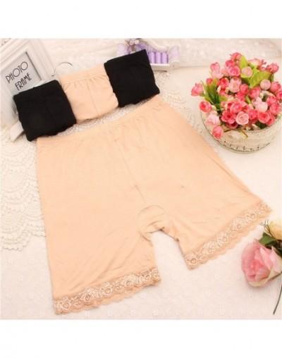 Sale New Summer XL XXXL Short Elastic comfortable anti-light Trousers Short Trousers Under Leggings - Skin - 403902420853-3