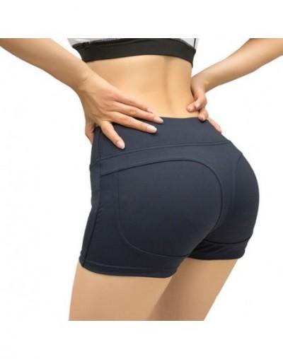 Women Hip Lift Gym Sports Shorts Yoga Running Quick-drying Compression Pants New Chic - Grey - 5F111180163275-1