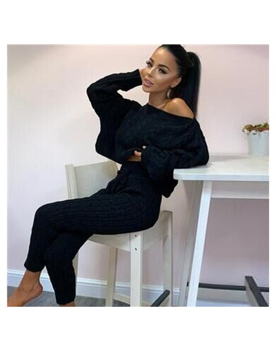 Best High-quality 2 Piece Outfit With Trousers For Tracksuits Women Set Jogging Femme High Waist Two Piece Set Top And Pants...