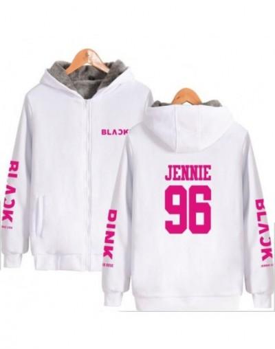 Large Size Winter Jacket Women 2018 Korean KPOP Blackpink Thicken Zipper Hooded Sweatshirt Outwear Warm Coat Tumblr Clothing...