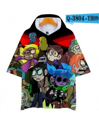 3D pop Face Casual Hoodies Women and Men summer Clothes 2019 Hot Sale Short Sleeves Plus Size - YH09-1 - 4Z3090896959-4