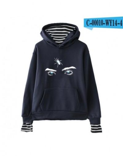 Billie Eilish Hoodies Women Casual New Arrival Hot Sale Sweatshirt Casual Girl Hoodies Printed sweatshirt pop - navy - 40416...