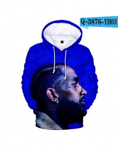 2019 3D Nipsey Hussle Print Casual Long Sleeve hooded Women and men Clothes 2019 Hot Sale k-pops Casual Hoodies Plus Size 4X...