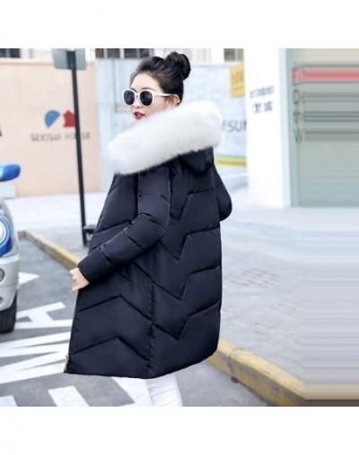 Female Warm Winter Jacket New 2019 Fashion Women Coat Winter Hooded Fake Fur Cotton Coat Large size 6XL Jacket Female Parkas...
