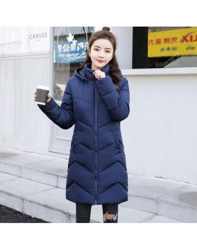 2019 New Parkas Women Winter Coats Long Cotton Casual Hooded white Jackets Ladies Warm Winter Parkas Female Overcoat Women C...