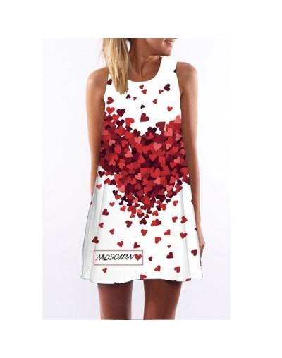 2018 Women Dress New Arrival Cute Mouse Print Casual Summer Dress Sleeveless O neck Short Party Dress Robe Femme Ete - pictu...