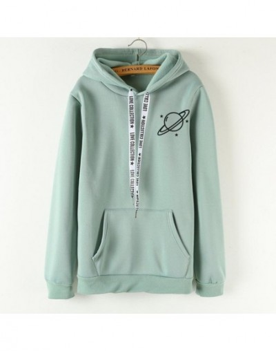 Brand Female Hoodies Women Long Sleeve Hooded Sweatshirt Universe Print Tracksuit Sweat Coat Autumn Casual Sportswear - cj51...