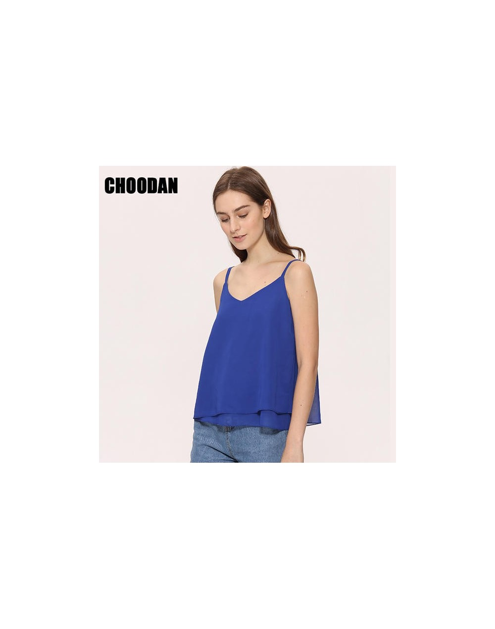 Camis Tank Top Women Chiffon Blouses Shirts 2018 Brand New Summer Sleeveless Shirt Loose Female Top Vest Lady Casual Women S...