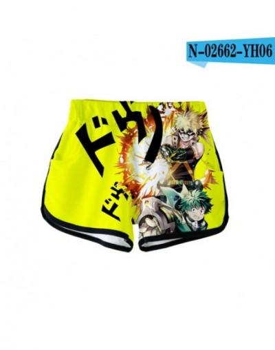 MY HERO ACADEMIA Print Sport Shorts Summer Women Sexy Fashion Popular Casual Harajuku Shorts Skinny Hot Sale - picture color...
