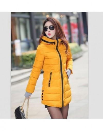 Female Long Parka Winter Jacket Women Down Cotton Jackets Ladies Coats Woman Winter Coats And Jackets Parkas Mujer 2019 YG12...
