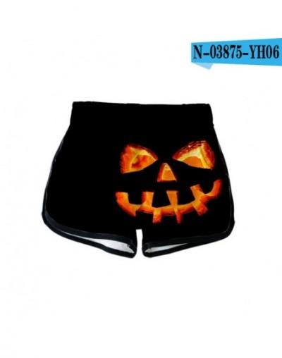 Halloween 3D Printed Women Shorts Fashion Streetwear Shorts kpop Hot Sale Harajuku Girls Trendy Summer Wear - Gray - 5T11118...