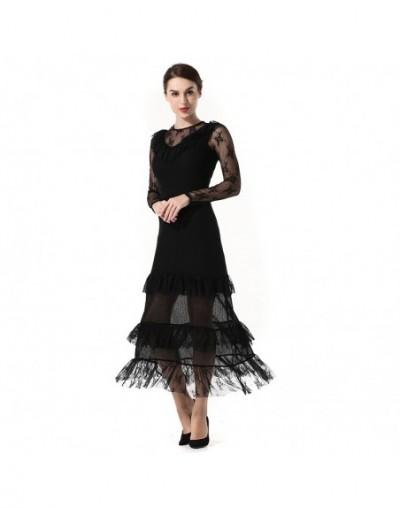 High Quality Dress Women 2018 Hollow Lace Stitching Slim Spring New Original Trade Dress clothing Vestidos WA62 - WA65 - 2M1...