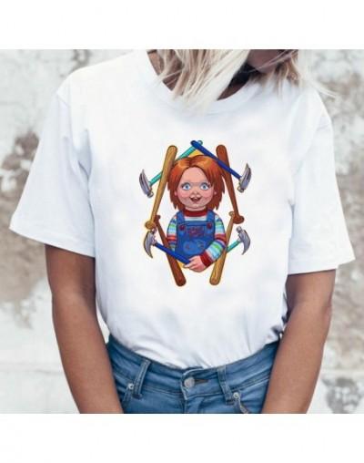 Japanese Chucky Horror Tshirt High Quality Cool Women T Shirt Streetwear Ulzzang Tee Shirts T-shirt Fashion Female Femme Top...