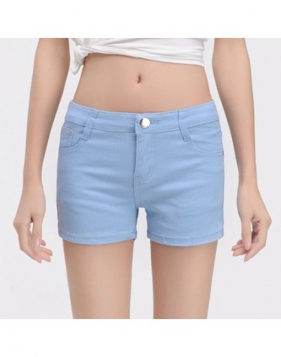 Women's Summer Shorts Feminino Short Jeans Femme Mini Ladies Elastic Denim Black Shorts Women Casual Short Pants Woman Summe...