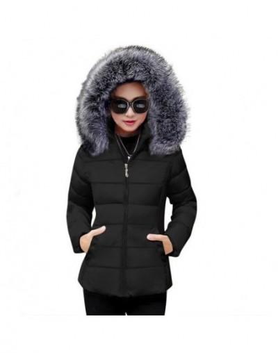 Winter Jacket Women New 2019 Winter Warm Down Jacket female White Parkas Artificial Fur Collar Big Size 5XL Women Winter Coa...