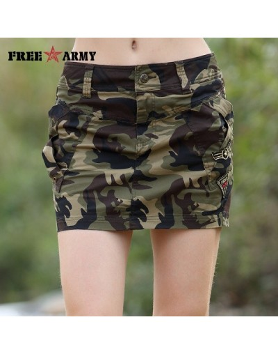 2018 New Skirt Military Camouflage Design Women Skirts Casual Style Mid Waist Summer Hot Mini Skirt For Woman - Camouflage -...