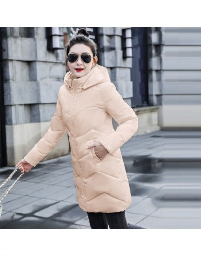 Fashion Autumn and winter jacket coat women High quality wadded jacket female Overcoat Jacket Outerwear women Winter down ja...