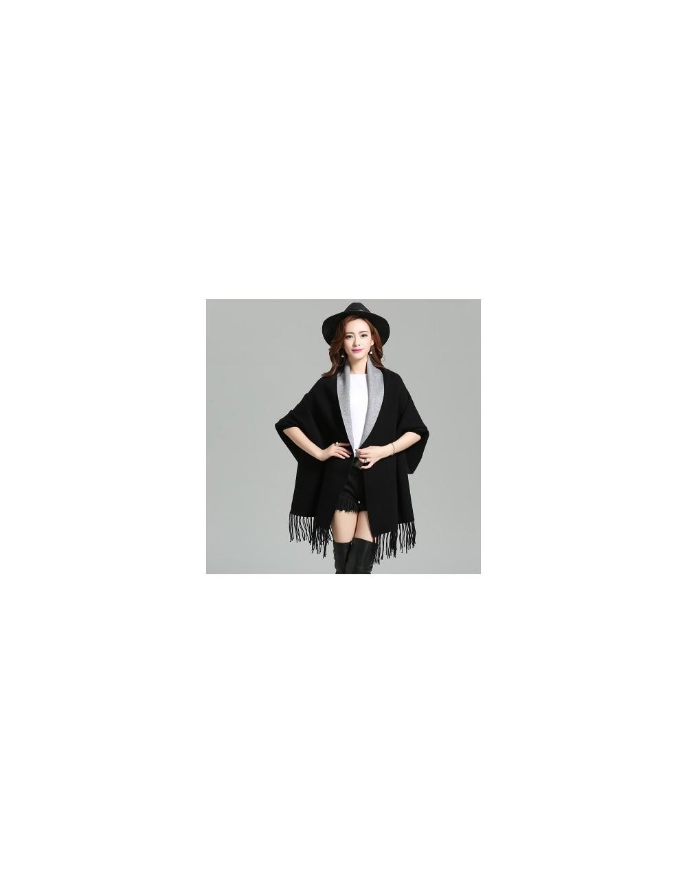 Autumn Korean Plus Size Women Long Loose Sweater Cardigan Tassel Sweater Shawl Coat Fashion Wild Female Knitwear 65881 - 658...