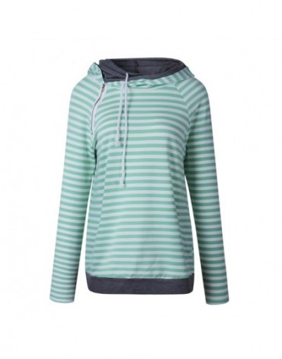 Autumn Casual Hoodies Women Plus Size XXXL Coat Pullover Warm Full Sleeve Hoodie Sweatshirt Female Pockets Striped Hoodie 20...