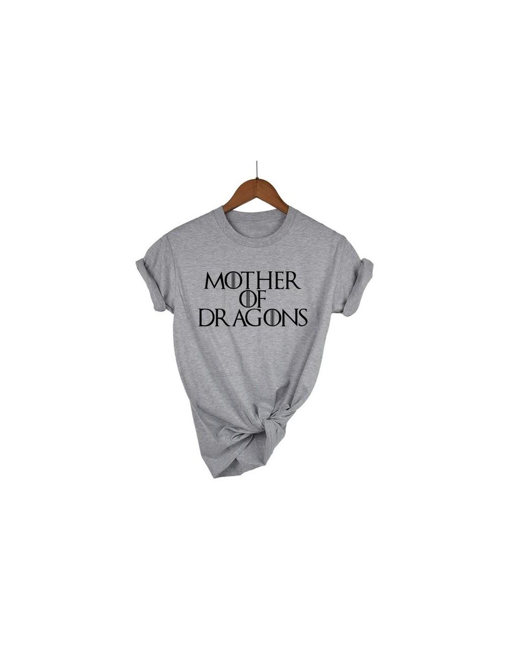 Hot 2019 T-shirt Women Game of Thrones Ringer Tee Shirt Femme Mother of Dragons T Shirt Female Short Sleeve Cool O-neck Tops...