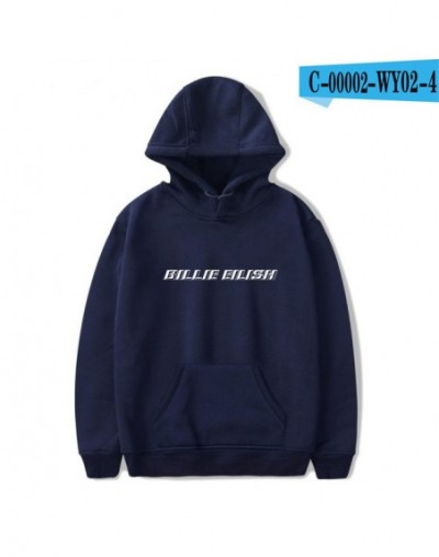 Billie Eilish Printed Hoodies Sweatshirt Winter Fashion Hip Hop Streetwear Long Sleeve Pullover Hooded Women Men Harajuku - ...