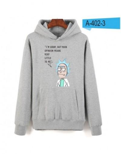 Rick and morty hoodies for Women baseball couples sweatshirts New Fashion Brand Streetwear hoodies Rick and morty - gray - 4...