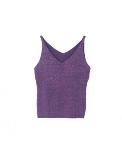 Newest Fashion Deep V-Neck Sexy Strappy Sleeveless Vest Women Tank Casual Tops T Shirt - Z - 4B3015122466-11