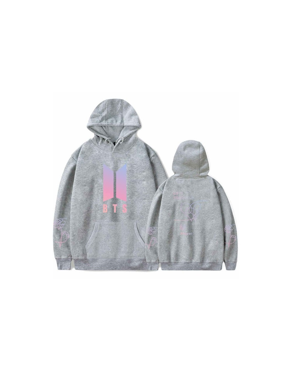 Winter Bangtan Boys Fashion Harajuku Hoodies Women LOVE Yourself Answer New Album Hooded Sweatshirt Women Men Fans Kpop Clot...
