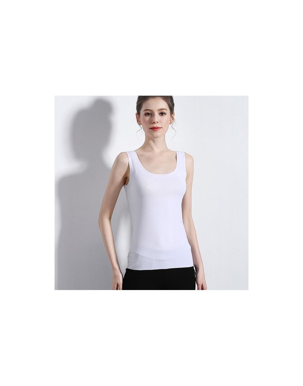 Soft Cotton Tank Top Women's shirt Sexy V neck Crop top Sleeveless Tops Casual Elastic Slim Streetwear Clothing For Women - ...