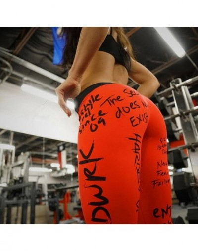 New Casual Letters Printed Women Leggings Fitness Legging Workout Sexy Leggin Pants For Girl Plus Size Slim Legins - HY-KYK2...